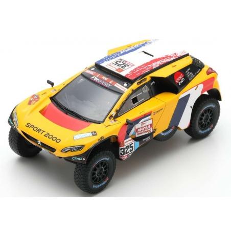 SPARK S5628 Peugeot 2008 DKR n°325 Lachaume Dakar 2019
