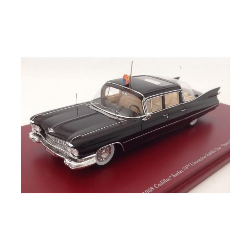 TRUESCALE TSM114334 Cadillac 75 Limousine Queen Elizabeth 1958