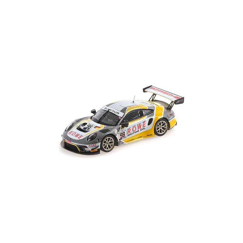 MINICHAMPS 410196098 Porsche 911 GT3 R (991.2) n°98 24H SPA 2019