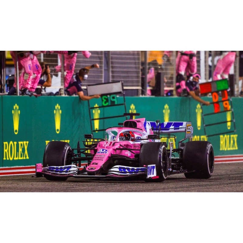 MINICHAMPS 417201611 Racing Point RP20 Perez Winner Sakhir 2020