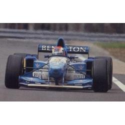 MINICHAMPS 417950802 Benetton B195 Herbert Winner Silverstone 1995