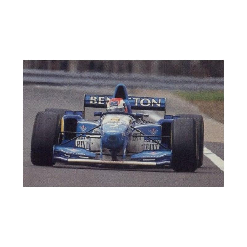 MINICHAMPS 417950802 Benetton B195 Herbert Vainqueur Silverstone 1995