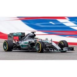 MINICHAMPS 436150044 Mercedes W06 Hamilton World Champion 2015