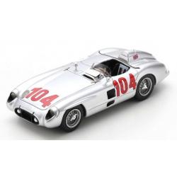 SPARK 43TF55 Mercedes-Benz 300 SLR n°104 Winner Targa Florio 1955