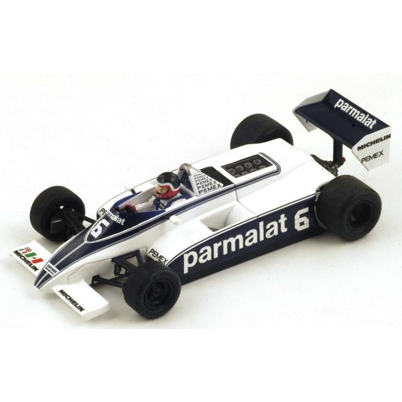 SPARK S4348 Brabham BT49/C n°6 Rebaque Monaco 1981