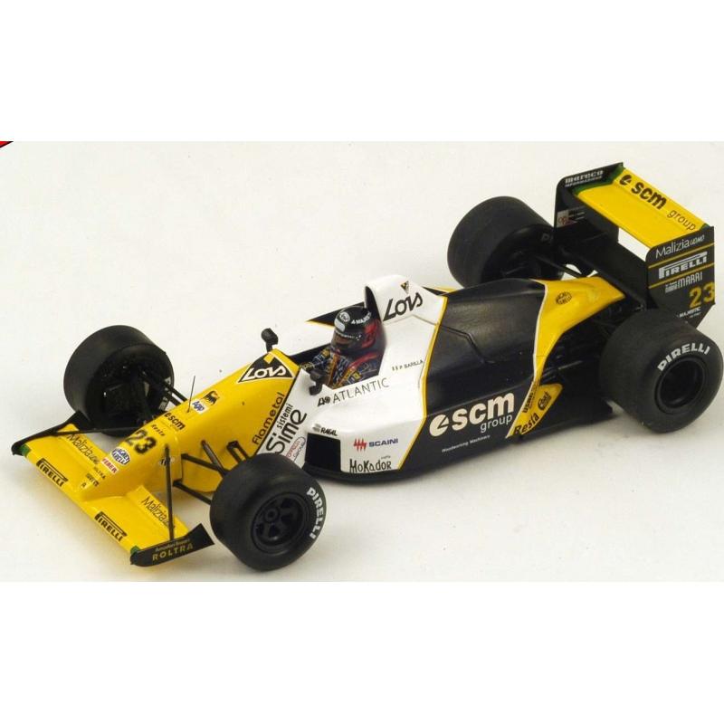 SPARK S4112 Minardi M189 n°23 Barilla Suzuka 1989