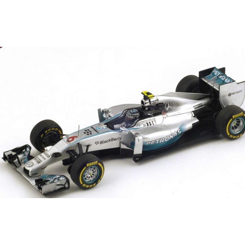 SPARK S3087 Mercedes W05 n°6 Rosberg Vainqueur Melbourne 2014