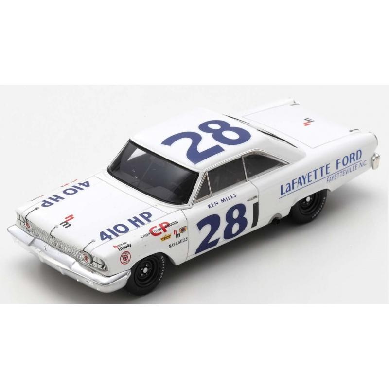 SPARK US112  Ford Galaxie n°28 Miles Riverside 1963