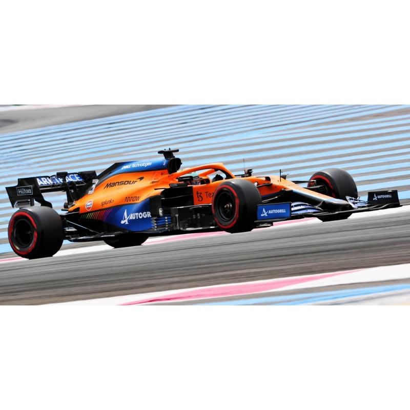 MINICHAMPS 537215103 McLaren MCL35M Riccardo France 2021