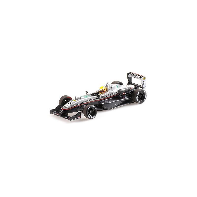 MINICHAMPS 410040321 Dallara Mercedes F302 Hamilton Macau F3 2004