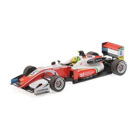 MINICHAMPS 1:18 Dallara Mercedes F317 Mick Schumacher Champion F3 2018