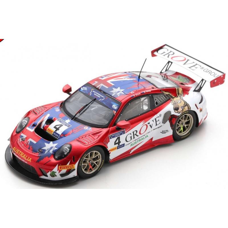 SPARK S6310 Porsche 911 GT3 R n°4 FIA Motorsport Games GT Cup Vallelunga 2019