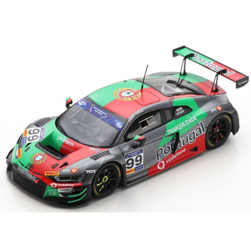 SPARK S6315 Audi R8 LMS GT3 n°99 FIA Motorsport Games GT Cup Vallelunga 2019