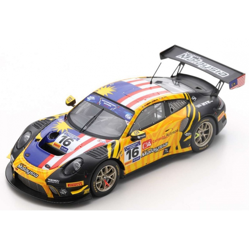 SPARK S6316 Porsche 911 GT3 R n°16 FIA Motorsport Games GT Cup Vallelunga 2019