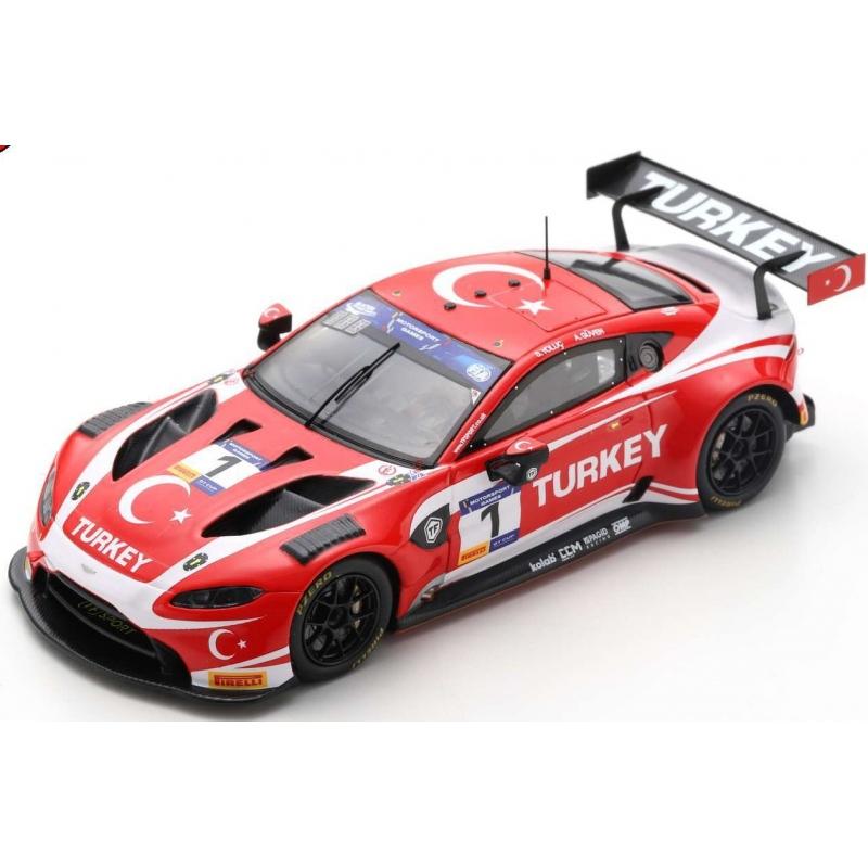 SPARK S6317 Aston Martin Vantage GT3 n°1 FIA Motorsport Games GT Cup Vallelunga 2019