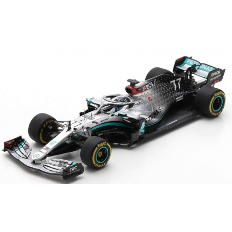 SPARK S6451 Mercedes W11 n°77 Bottas Barcelona Test 2020