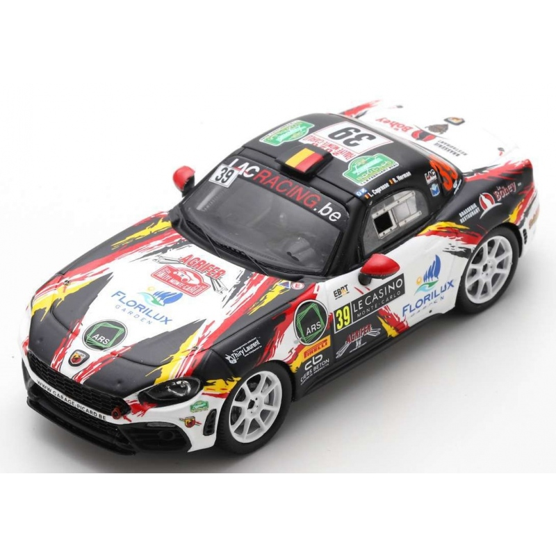 SPARK S6565 FIAT Abarth 124 Rally n°39 Caprasse Monte Carlo 2020