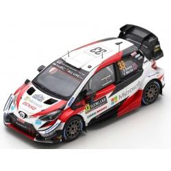 SPARK S6568 Toyota Yaris WRC n°33 Evans Vainqueur Suède 2020