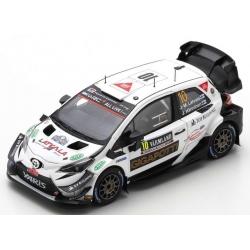 SPARK S6570 Toyota Yaris WRC n°10 Latvala Sweden 2020