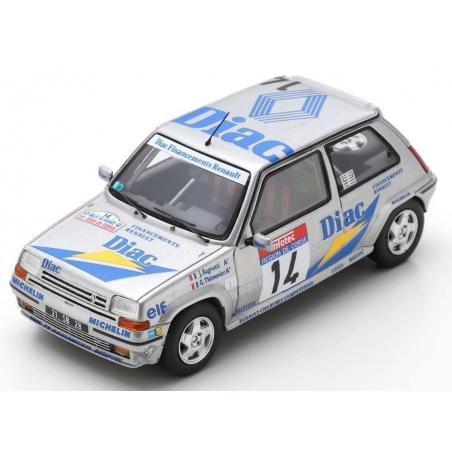 SPARK S5556 Renault 5 GT Turbo n°14 Ragnotti Tour de Corse 1990
