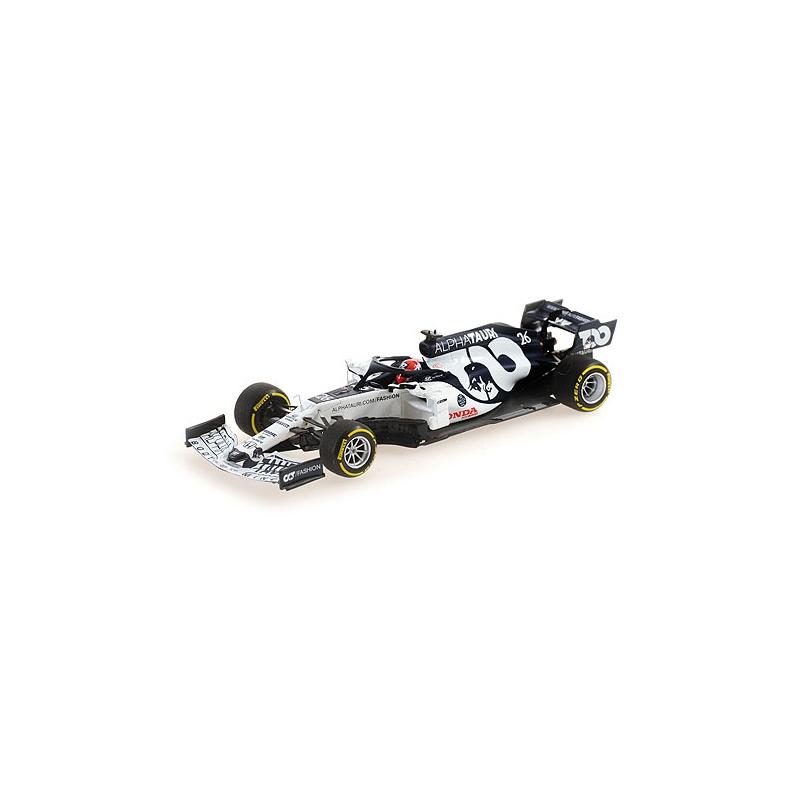 MINICHAMPS 417200826 Alfa Tauri Honda AT1 Kvyat Monza 2020
