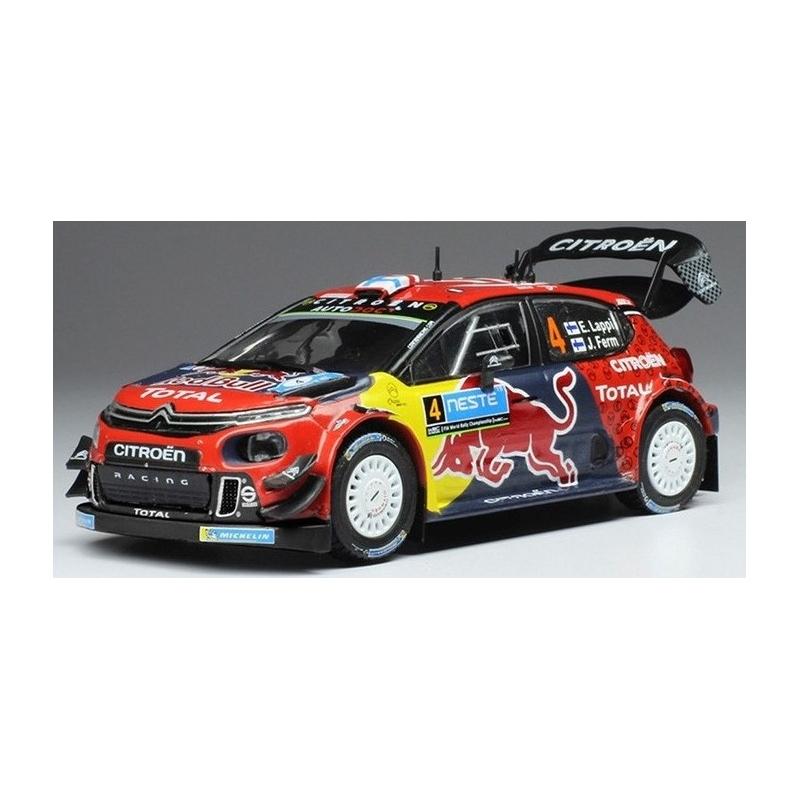 IXO Citroen C3 WRC n°4 Lappi Finland 2019