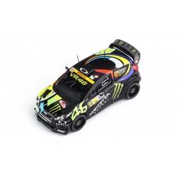 IXO FORD Fiesta RS WRC n°46 Rossi Vainqueur Monza 2012