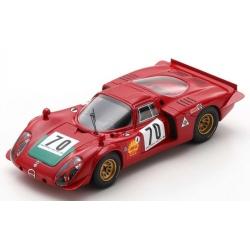 SPARK SF175 Alfa Romeo 33/2 n°70 Winner Ronde Cévenole 1969