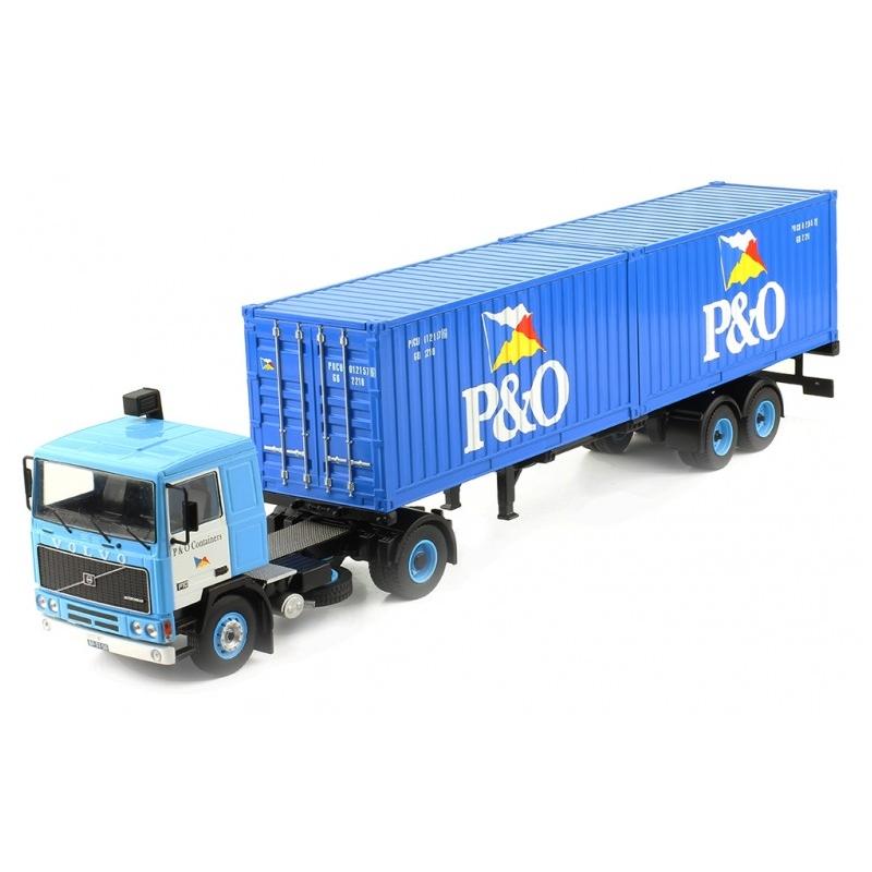 IXO TTR006 VOLVO F10 P&O 1983
