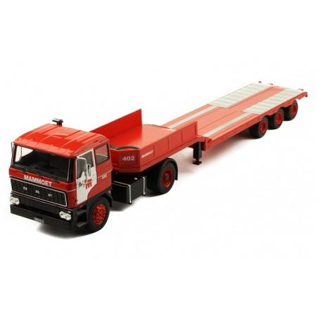IXO TTR012 DAF 2800 Low-boy trailer 1978 Mammoet
