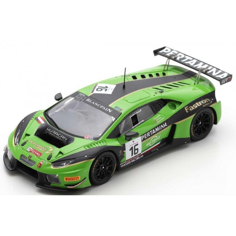 SPARK SB285 Lamborghini Huracán GT3 n°16 24H Spa 2016