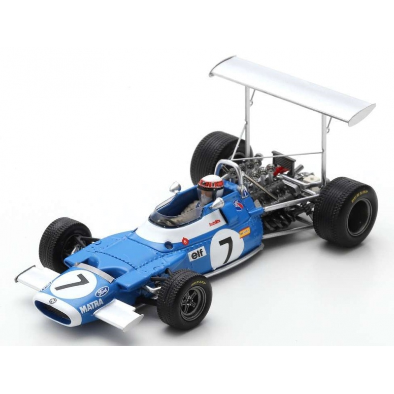 SPARK S7186 Matra MS80 n°7 Stewart Vainqueur Race of Champions 1969