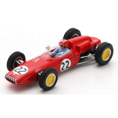 SPARK S7117 Lotus 21 n°22 Siffert Spa 1962