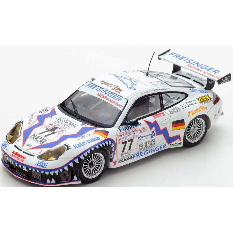 SPARK Porsche 911 GT3 n°77 Le Mans 2001
