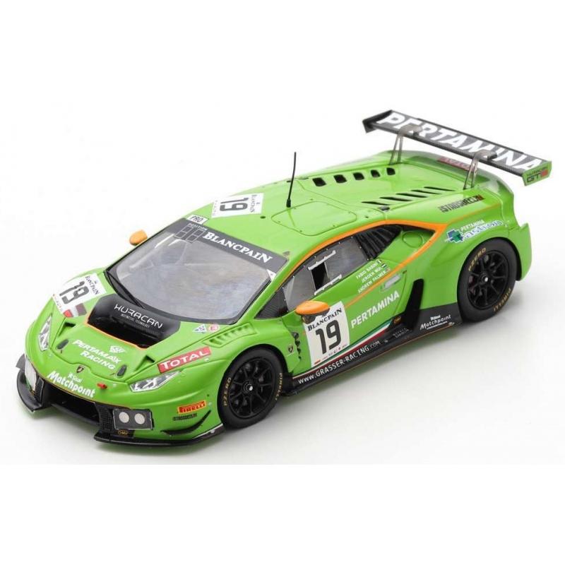 SPARK SB282 Lamborghini Huracán GT3 n°19 24H Spa 2015