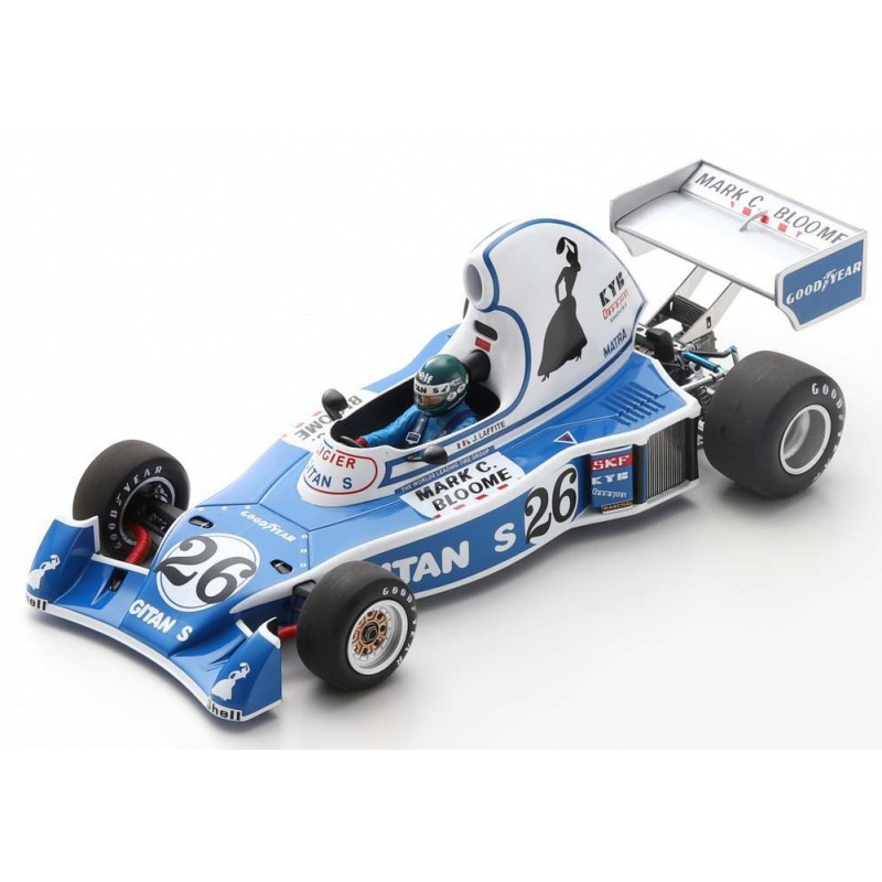 SPARK 18S220  Ligier JS5 n°26 Laffite Long Beach 1976