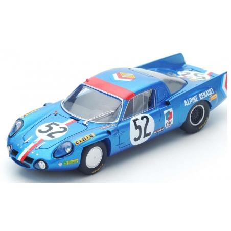 SPARK Alpine A210 n°52 Le Mans 1968