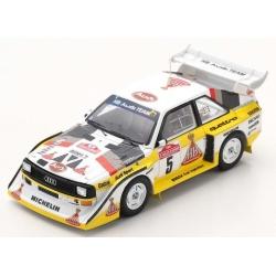 SPARK S5192 Audi Sport quattro S1 E2 n°5 Röhrl Winner Sanremo 1985