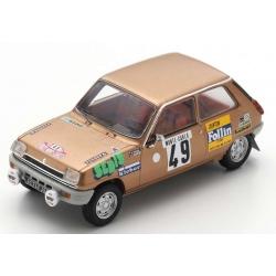 SPARK S6019 Renault 5 LS n°49 Follin Monte Carlo 1975