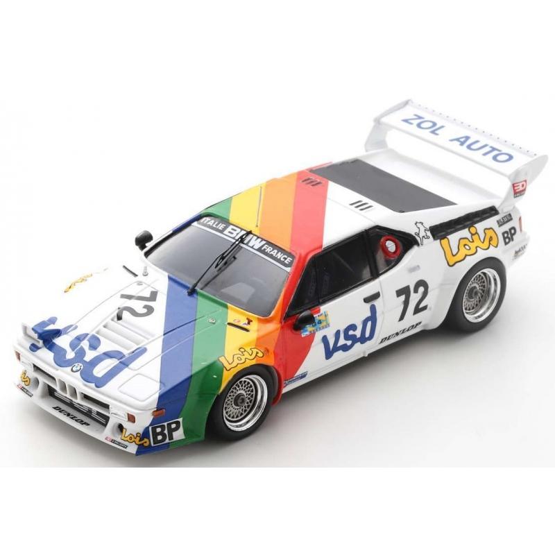 SPARK S6405 BMW M1 n°72 24H Le Mans 1981