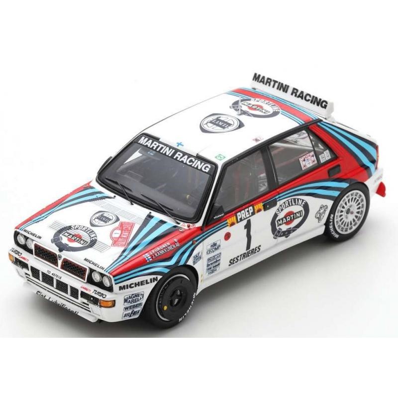 SPARK S9014 Lancia Delta HF Integrale n°1 Kankkunen Monte Carlo 1992