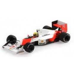 MINICHAMPS 547904127 McLaren MP4/5B Senna Winner Monaco 1990