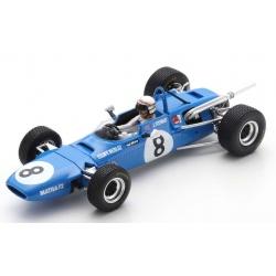 SPARK SF184 Matra MS7 n°8 Stewart Vainqueur Grand Prix de Pau F2 1968