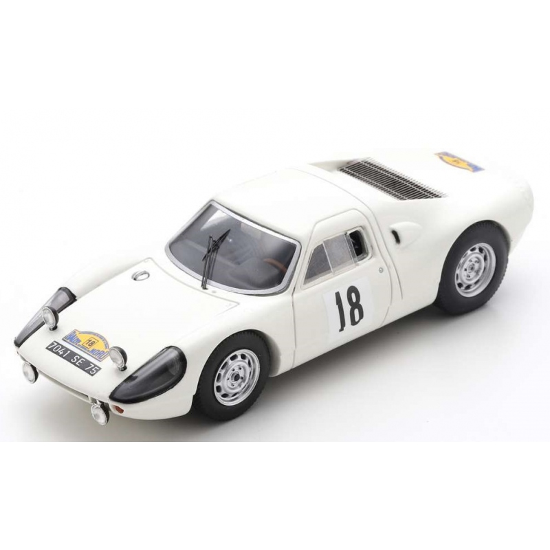 SPARK SF166 Porsche 904 GTS n°18 Rallye des Routes du Nord 1966