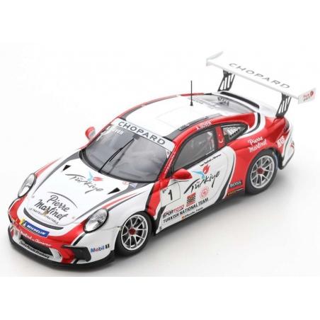 SPARK SF108 Porsche 911 GT3 Cup n°1 Güven Porsche Carrera Cup France Champion 2019