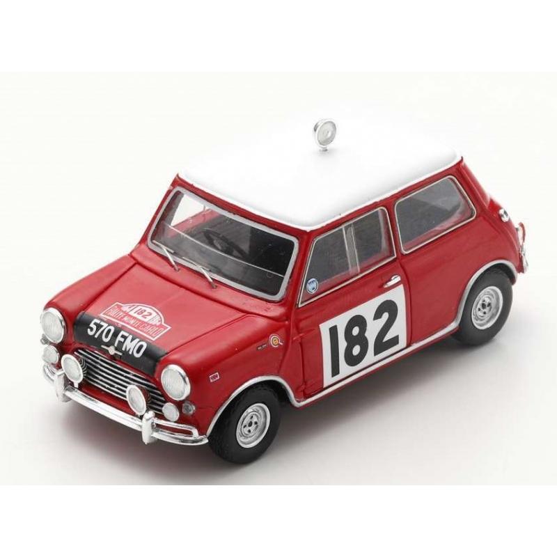 SPARK S1191 Morris Cooper S n°182 Mäkinen Monte Carlo 1964