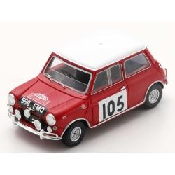 SPARK S1192 Morris Cooper S n°105 Aaltonen Monte Carlo 1964