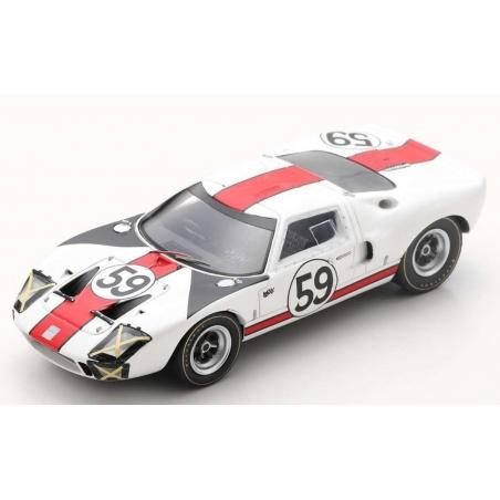 SPARK S4537 Ford GT40 n°59 24H Le Mans 1966