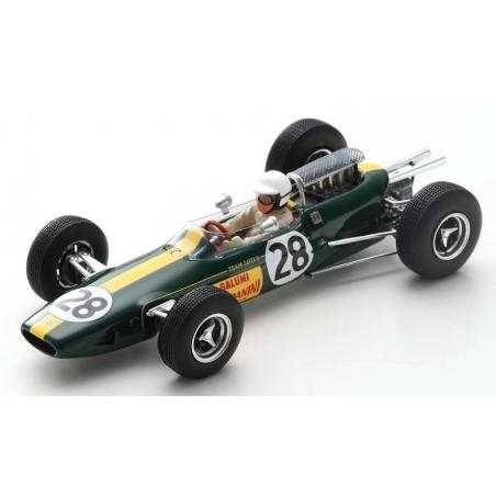 """SPARK S7293 Lotus 25 n°28 """"Geki"""" Monza 1965"""