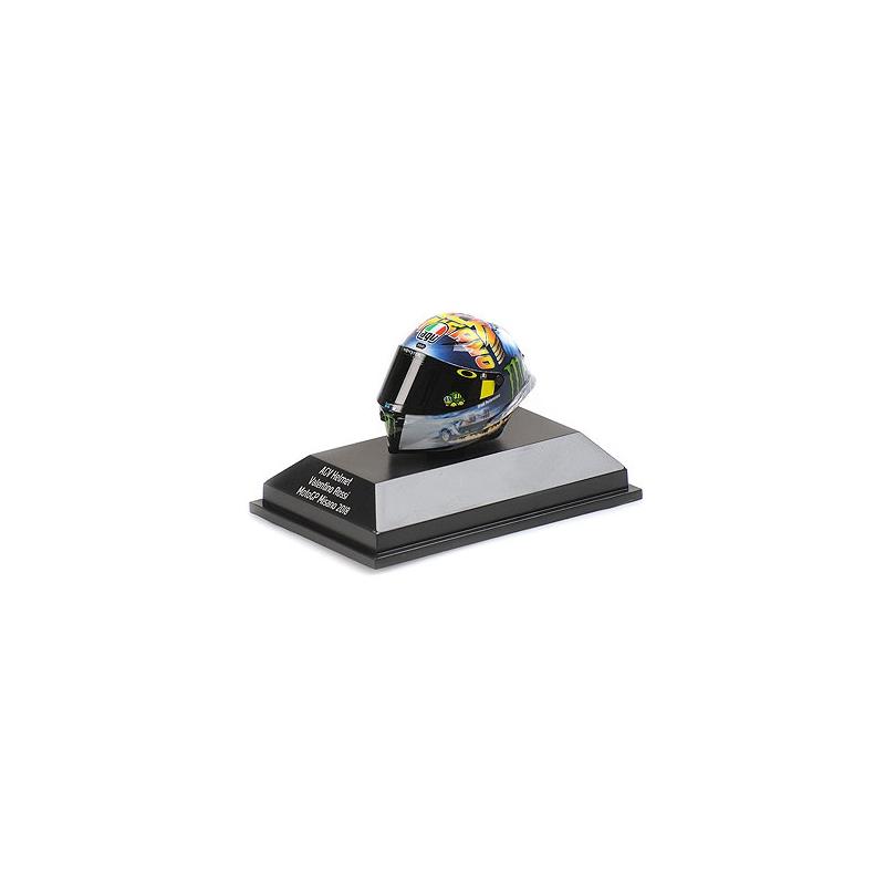 MINICHAMPS 399180096 Casque Valentino Rossi Misano MOTOGP 2018